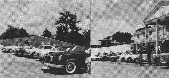 Line-up of 1962 entries.