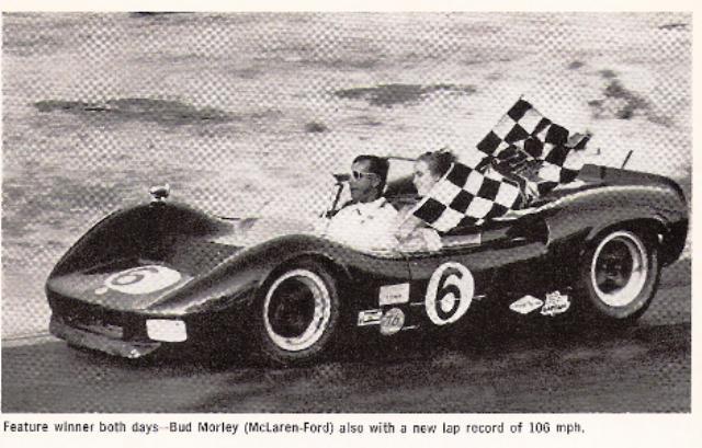 1966 Bud Morley McLaren Ford